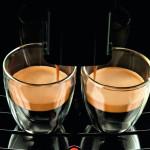 Saeco HD8751 Kaffeeauslauf im Detail