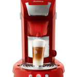 Philips HD7854 Kaffeepadmaschine in rot