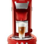 Philips HD7854 Kaffeepadmaschine in rot