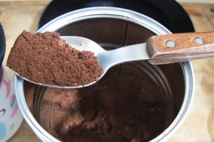 Kaffeedose aus Blech