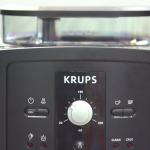 Krups EA 8000 Bedienfeld