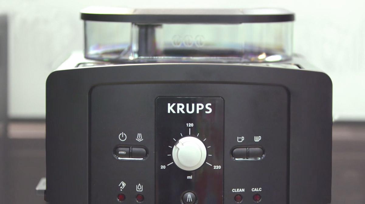 Krups kaffeevollautomat ea 8108 ka