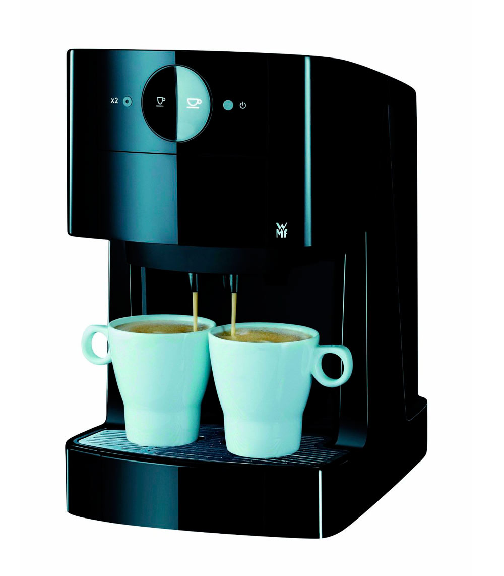 wmf 5 im test kaffeepadmaschinen vergleichstest. Black Bedroom Furniture Sets. Home Design Ideas
