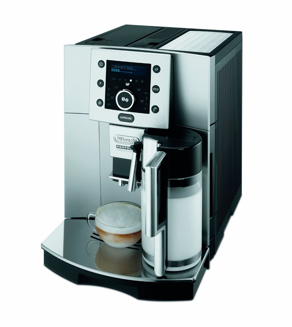 delonghi esam 5500 im test kaffeevollautomaten test. Black Bedroom Furniture Sets. Home Design Ideas