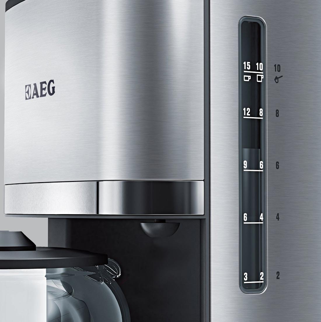 aeg premiumline kf 7500 im test kaffeemaschinen im vergleich. Black Bedroom Furniture Sets. Home Design Ideas