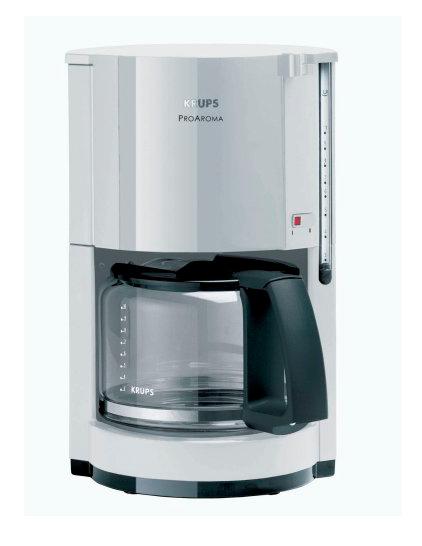 Krups kaffeemaschine proaroma g nstige haushaltsger te for Gunstige kaffeemaschine