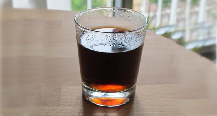 Kalt gebrühter Kaffee