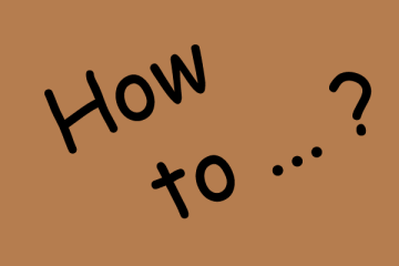 Kaffeefibel Blog - How to