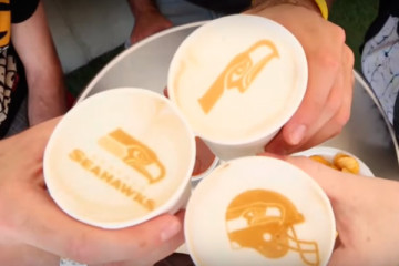 Ripple Maker - Latte Art Beispiele