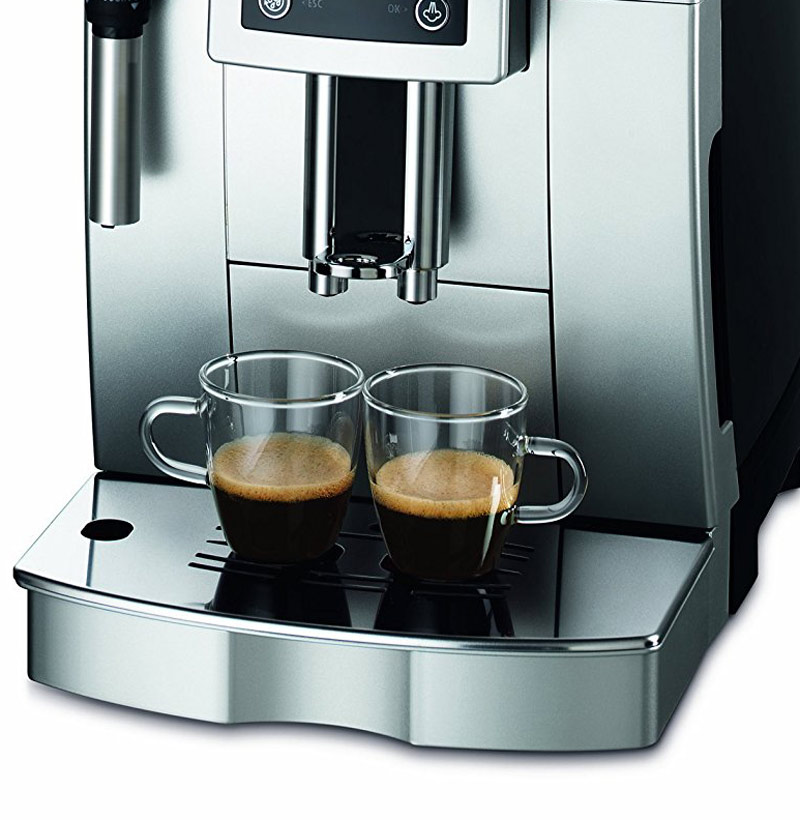 delonghi ecam im test kaffeevollautomaten im vergleich. Black Bedroom Furniture Sets. Home Design Ideas