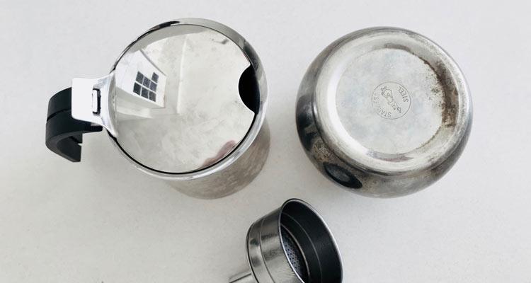 Kaffeefibel Blog Espressokanne Reinigung