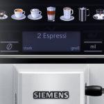 Siemens EQ.6 Plus s300 Bedienung