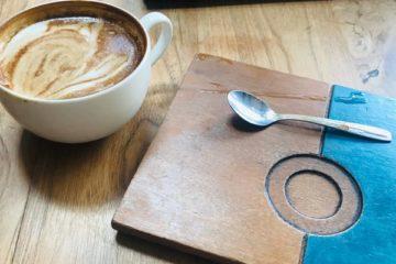 Kaffeefibel Blog Untersetzer aus Holz